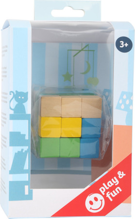 Construction Cube Blue-Green