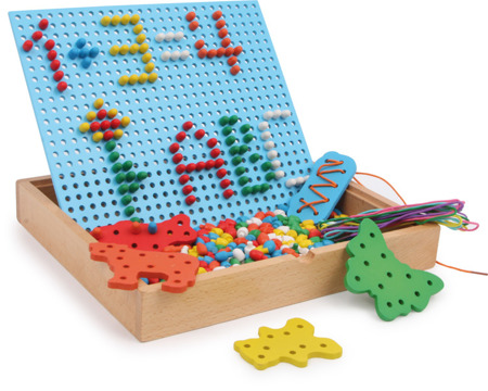 Pin and Thread Puzzle